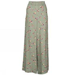 ARMEDANGELS Trousers Naimaa mid khaki/Assortment Flower