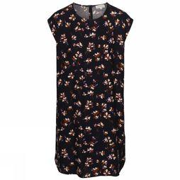ARMEDANGELS Dress Hilaa Flowers & Petals dark blue/Assortment Flower