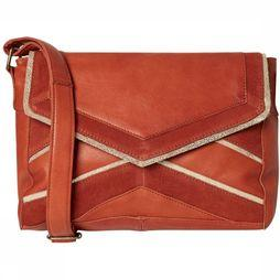 Pieces Sac cornelia Leather Crossbody Rouge Moyen