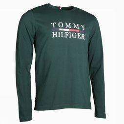 Tommy Hilfiger T-Shirt Tommy Hilfiger Long Sleeve dark green
