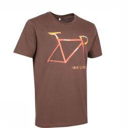 Vive le Velo T-Shirt Frame dark brown