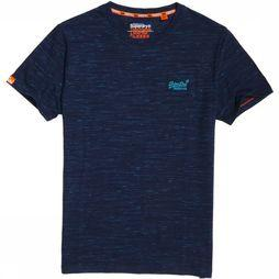 Superdry T-Shirt Orange Label Vintage Embroidery S/S Donkerblauw