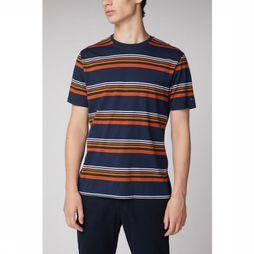 Ben Sherman T-Shirt 1902-Ts0055894 dark blue/rust