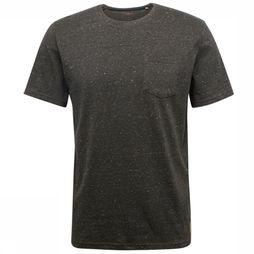 Tom Tailor T-Shirt 1014074 dark khaki