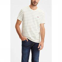 Levi's T-Shirt Levi The Original off white/dark grey