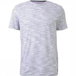 Tom Tailor T-Shirt 1017555 Donkerblauw/Wit