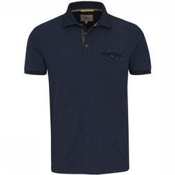 Camel Active Polo 118186 dark blue/Assortment Geometric