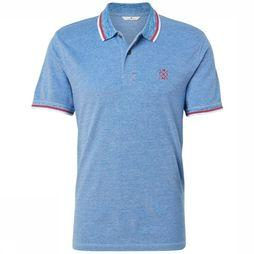 Tom Tailor Polo 1008653 Bleu Moyen