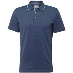 Tom Tailor Polo 1011579 Bleu Moyen