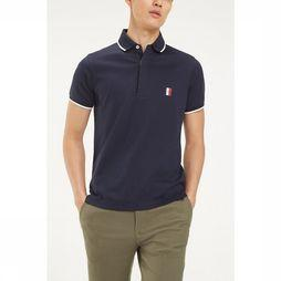 Tommy Hilfiger Polo Sophisticated Jersey Slim dark blue