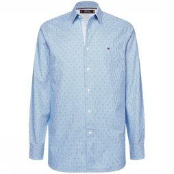 Tommy Hilfiger Shirt Mw0Mw12192 light blue/white