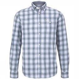 Tom Tailor Shirt 1016807 white/dark blue