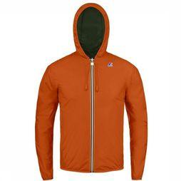 K-Way Jas Jacques Plus Double Oranje/Zwart