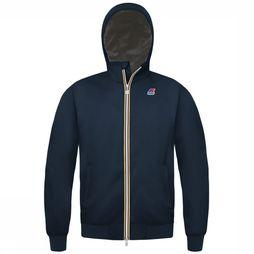 K-Way Coat Justin Ripstop Marmotta dark blue