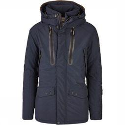 Camel Active Coat 420584/2R62 dark blue
