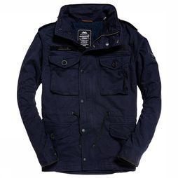 Superdry Coat Sup Rookie Field dark blue