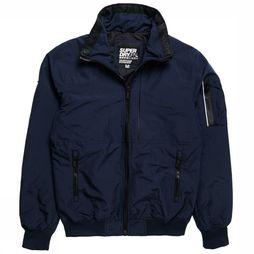 Superdry Jas Sup Moody Light Bomber Donkerblauw