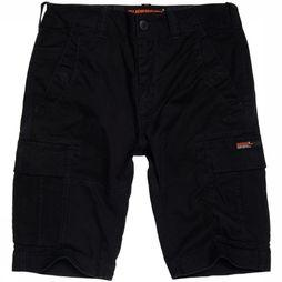 Superdry Short Core Cargo Donkerblauw