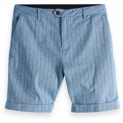 Scotch & Soda Short 148795 Middenblauw/Donkerblauw