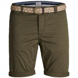 Jack & Jones Short lorenzo Donkerkaki