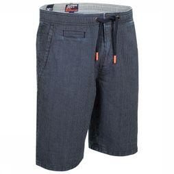Superdry Shorts Sunscorched dark blue/white