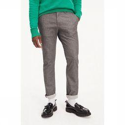 Tommy Hilfiger Pantalon Denton Chino Str Wool Look Flex Gris Moyen