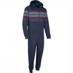 Eskimo Pyjamas Nick Men Onesie dark blue