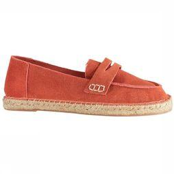 Yaya Chaussure Suede Rouille