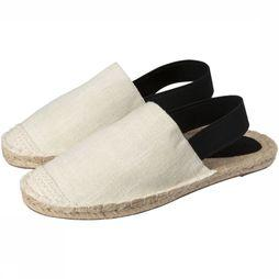 Yaya Schoen Canvas Slip-On Gebroken Wit