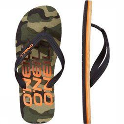 O'Neill Tongs Fm Profile Kaki Moyen/Assortiment Camouflage