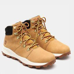 Timberland Bottine Brooklyn Hicker Donkergeel