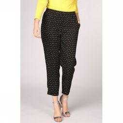 Sugarhill Boutique Trousers Kyle Lightning Bolt black/white