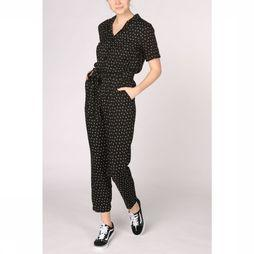 Sugarhill Boutique Jumpsuit Madison Lightning Bolt black/white