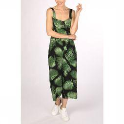 Sugarhill Boutique Jumpsuit Millie Palm Batik Cropped black/mid green