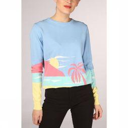 Sugarhill Boutique Pullover Katy Life'S A Beach light blue/light yellow