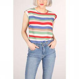 Sugarhill Boutique Shirt Olivia Cabana Stripe mid blue/red