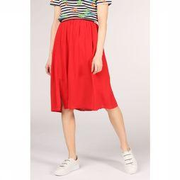 Sugarhill Boutique Skirt Gia Block Colour Midi red