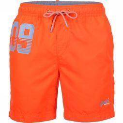 Superdry Short De Bain Waterpolo Orange