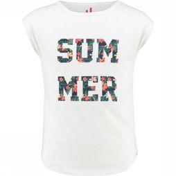 Ayacucho Junior T-Shirt Azure Summer Blanc/Assortiment