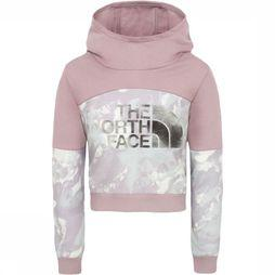 The North Face Trui Girl'S Cropped Hoodie Paars