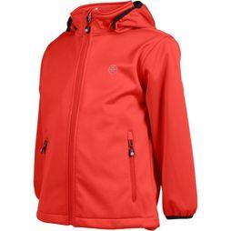 Color Kids Softshell Ralado Oranje