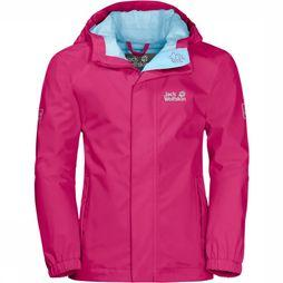 Jack Wolfskin Coat Pine Creek Jacket Fuchsia