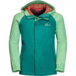 Jack Wolfskin Coat Tucan Lime/light green