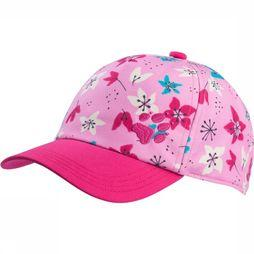 Jack Wolfskin Cap Splash Kids mid pink/Assortment Flower