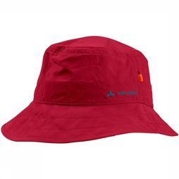 Vaude Hat Linell II dark red