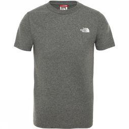 The North Face T-Shirt Y Simple Dome Light Grey Mixture