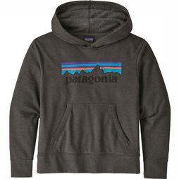 Patagonia Kids Pullover Paki K Graphic Hoody Dark Grey Mixture