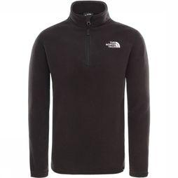 The North Face Pull Y Glacier 1/4 Zip (Recycled) Noir/Blanc