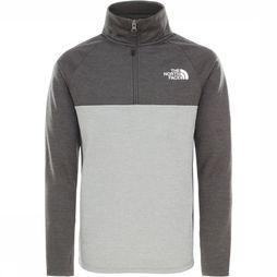 The North Face Pullover Reactor 1/4 Zip Mid Grey/Light Grey Mixture