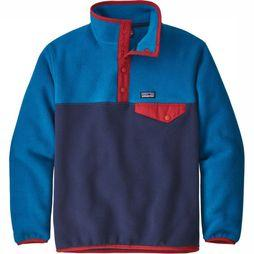 Patagonia Kids Pullover Paki B Lighweight Snap T dark blue/blue